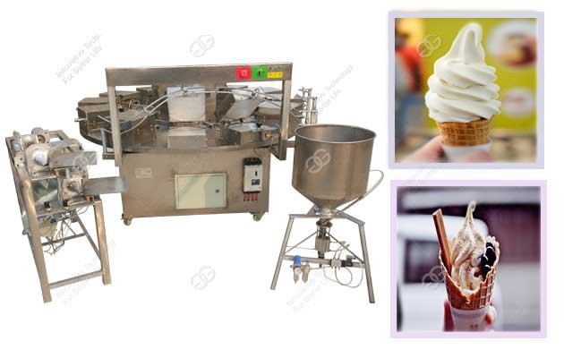 Commercial Ice Cream Cone Baking Machine For Sale